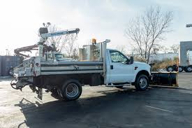 100 Truck With Snow Plow For Sale Used 2009 D F350 XL Super Duty With Spreader