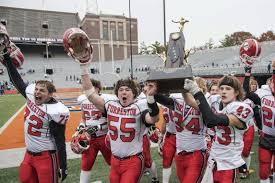 The Barkalows 2014 by 1a 2a Football Forreston Deer Creek Mackinaw Claim State Titles