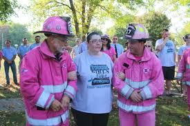Pink Heals Brings Hugs (video)   News   AroundPtown.com Me At The American Lafrance Headquarters Pink Heals Pinterest Campaigning Against Cancer With Pink Fire Truck Scania Group Copy Of Fire Trucks Hop Life Brewing Company Old Intertional Photos From The K Line In Town Winonadailynewscom Debbiethe Nc Piedmont One Tours Trucks Flickr