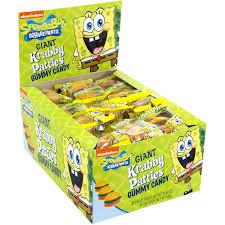 Spongebob Bathroom Decor Walmart by Spongebob Squarepants Giant Krabby Patties Gummy Candy 63 Oz 30