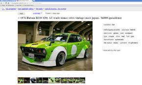 100 Craigslist Los Angeles Trucks By Owner Well Thats One Way To Ruin A Datsun Shitty_Car_Mods