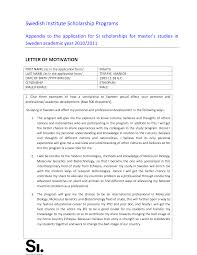 How To Write Letter Of Motivation For Phd How To Write The