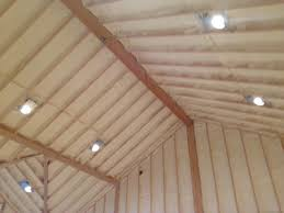 Insulating Cathedral Ceilings With Spray Foam view spray foam basement ceiling design decor contemporary to