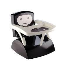 rehausseur bebe chaise thermobaby réhausseur de chaise babytop noir noir et ivoire achat
