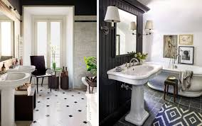 Open Bathroom Concept For Your Master Bedroom Chic 40 Black White Bathroom Design And Tile Ideas