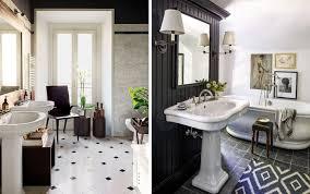 Traditional Bathroom Ideas Photo Gallery 40 Black White Bathroom Design And Tile Ideas