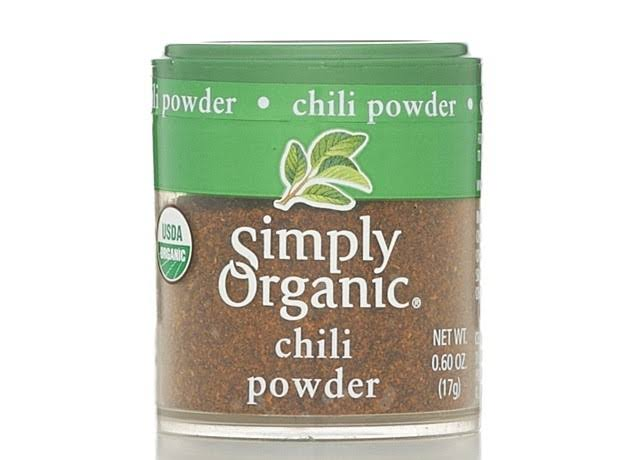 Simply Organic Chili Powder - 17g