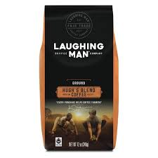 Laughing Man Coffee Hughs Blend Medium Roast Ground