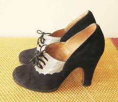 Vintage Heels Up Pumps Kicks S Style Black Shop Pin Shoes In Flirty Retro Styles