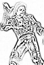 Download Coloring Pages Michael Jackson To And Print