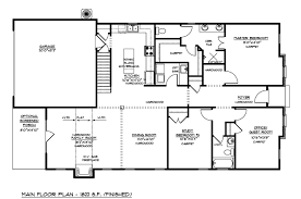 fashionable design architectural plans for building permit 11