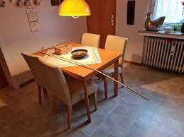 küchen esszimmer tisch mit 4 stühlen