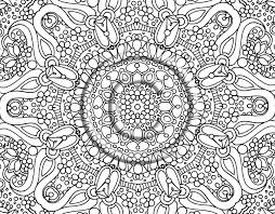 Super Hard Coloring Pages Printable Difficult Page Free