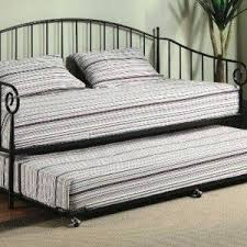 Pop Up Trundle Beds by Daybed Pop Up Trundle Beds With Striped Bedding Pop Up Trundle