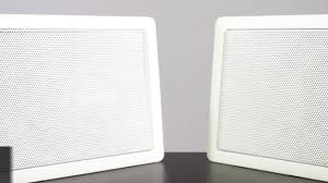 Sonos Ceiling Speakers Bathroom by Bluetooth In Wall Speakers Ceiling Speakers Youtube