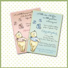 Winnie The Pooh Baby Shower by Baby Winnie The Pooh Baby Shower Invitations Winnie The Pooh Baby