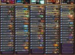 hearthstone news all decklists from seatstory cup gosugamers