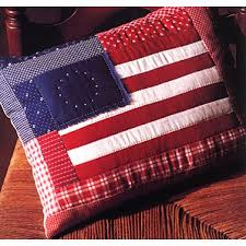 Craftdrawer Crafts American Flag Pillow Sewing Pattern and More
