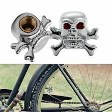 100 Skull Truck Rims Cool Universal Car Bike Tire Air Valve Stem Caps Wheel