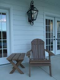 Living Accents Folding Adirondack Chair White by 100 Living Accents Folding Adirondack Chair White Patio