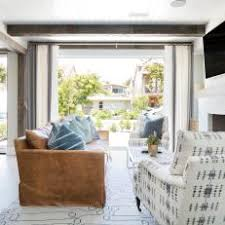 Transitional Living Room Leather Sofa by White Transitional Living Room Photos Hgtv