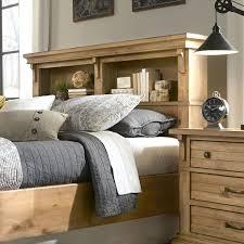 Wayfair Headboards King Size by Best 25 Bookcase Headboard Ideas On Pinterest Bed Shelf