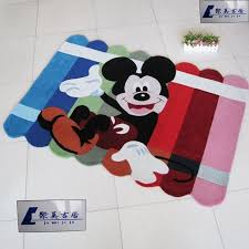 Children room area rugs MICKEY mouse carpet cartoon handmade