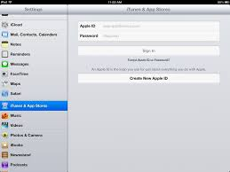 iPad Basics How to Change the Apple ID on the iPad