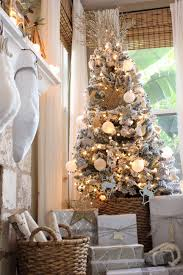 Walmart Flocked Christmas Trees by Meaningful Holiday Home Tour Meaningful Spaces