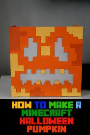 Minecraft Growing Pumpkins by How To Make A Paper Minecraft Halloween Pumpkin For Kids
