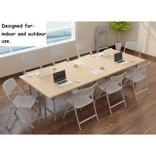 LIVEDITOR Set Of 5 Folding Chair Home Office Meeting Kitchen ... Office Conference Tables Used Justheitcom China Modern Fashionable Mesh Ergonomic Chair Foldable School Pin By Prtha Lastnight On Room Ideas Low Budget In 2019 Folding Table And Chairs Amazoncom Gfl Home Room Appealing Bamboo With Canvas Cover And Reading For Sale Ap Ding Storage Facil Fniture Small Fold Tablemeeting Wheels Fnitures 6ft Plasticng Cheap Covers Walmart In Store Boardroom Source White Height For Banquet