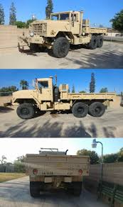 100 5 Ton Military Truck For Sale Very Reliable 1989 BMY Ton 66 M92A2