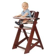 100 Kangaroo High Chair Keekaroo Height Right With Tray Mahogany Walmartcom