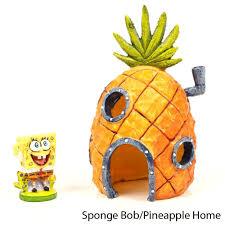 Spongebob Aquarium Decor Set by Amazon Com Spongebob Pineapple 2pc Ornmnt Combo Pack Ornament