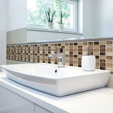 18pcs küche kachel aufkleber badezimmer mosaik pvc
