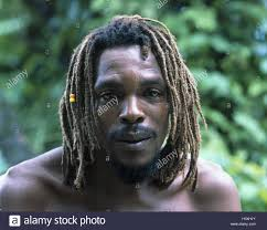 West Indian Islands Saint Lucia Local Dreadlocks Portrait The Small Antilles Southern About Wind Island Caribbean Man Non White