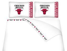 amazon com 7pc nba chicago bulls queen bedding set home kitchen