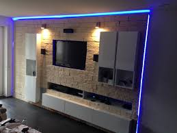 wohnzimmer tv wand selber bauen caseconrad