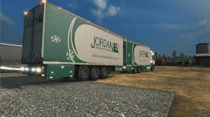 BDF TANDEM TRUCK JORDAN INTERNATIONAL PACK ETS2 - Mod For European ...