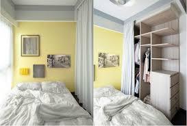 gelbe wandfarbe im kleinen schlafzimmer diy deko wohnung