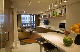 Interior Design Small Apartment Living Room And Kitchen Good Decoration Created By Chief Architect So You Can