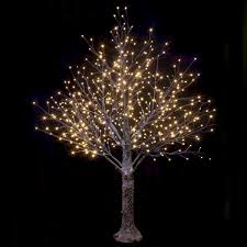 Ebay Christmas Trees 6ft by Brown Snowy Twig Tree Warm White Led Lights Christmas Indoor