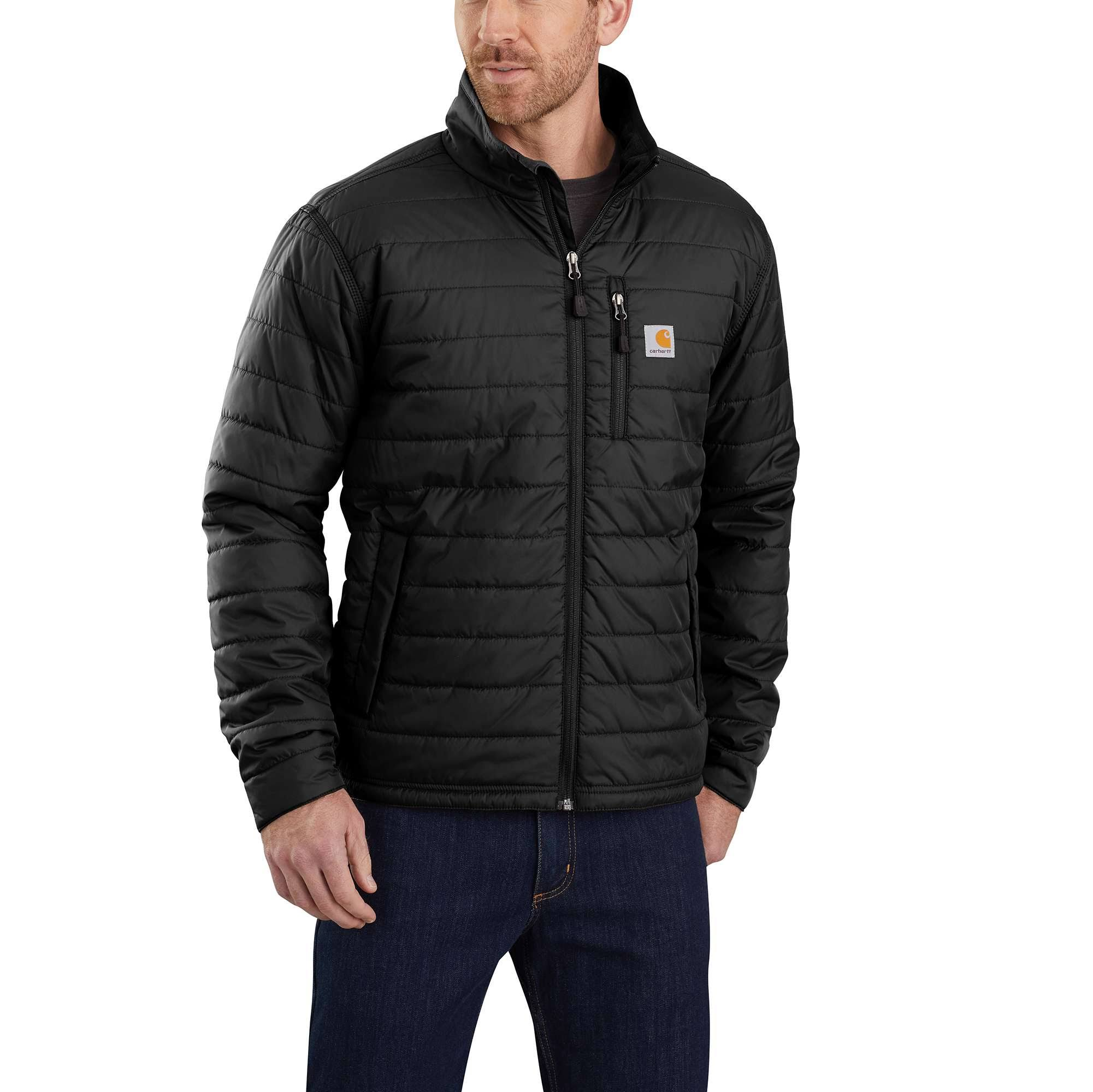Carhartt Men's Gilliam Lightweight Insulated Jacket - Black, Large
