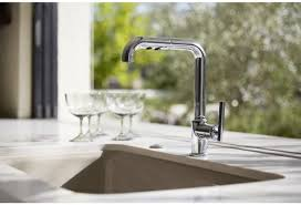 Kohler Purist Widespread Lavatory Faucet by Faucet Com K 7505 Bl In Matte Black By Kohler