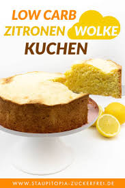 zitronen wolke kuchen ohne zucker