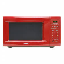 Kenmore 11 Cu Ft Countertop Microwave Oven Red