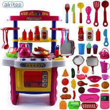 ensemble cuisine nouvelle arrivée 40 pcs enfants cuisine ensemble bébé fille puzzle