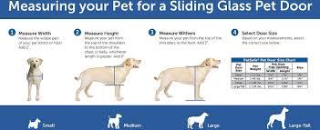 Doggie Doors For Sliding Patio Doors by Petsafe Freedom Patio Pet Doors For Sliding Doors 81 Inches