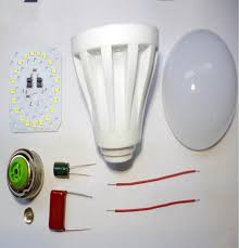 led spare parts led housing parts manufacturer from new delhi