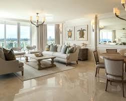 Italian Marble Floor Design Charming Beige Flooring On Regarding Living Room In Beach Style